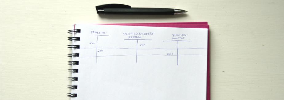 Toiminimen kirjanpito: Yksityisnostot jakululaskut